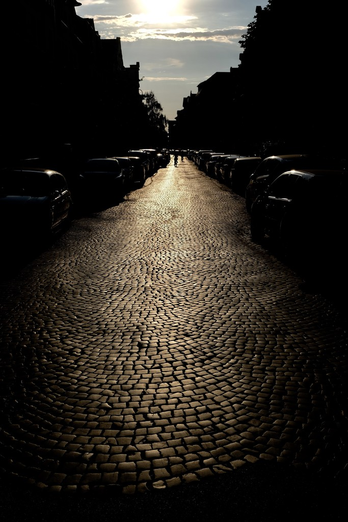 Paved street by vincent24