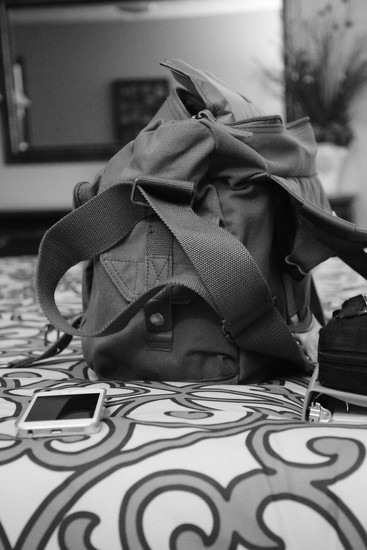 Trusty camera bag... by thewatersphotos