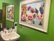16th Jul 2018 - Bathroom art in the Men's room