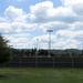 Baseball field in color