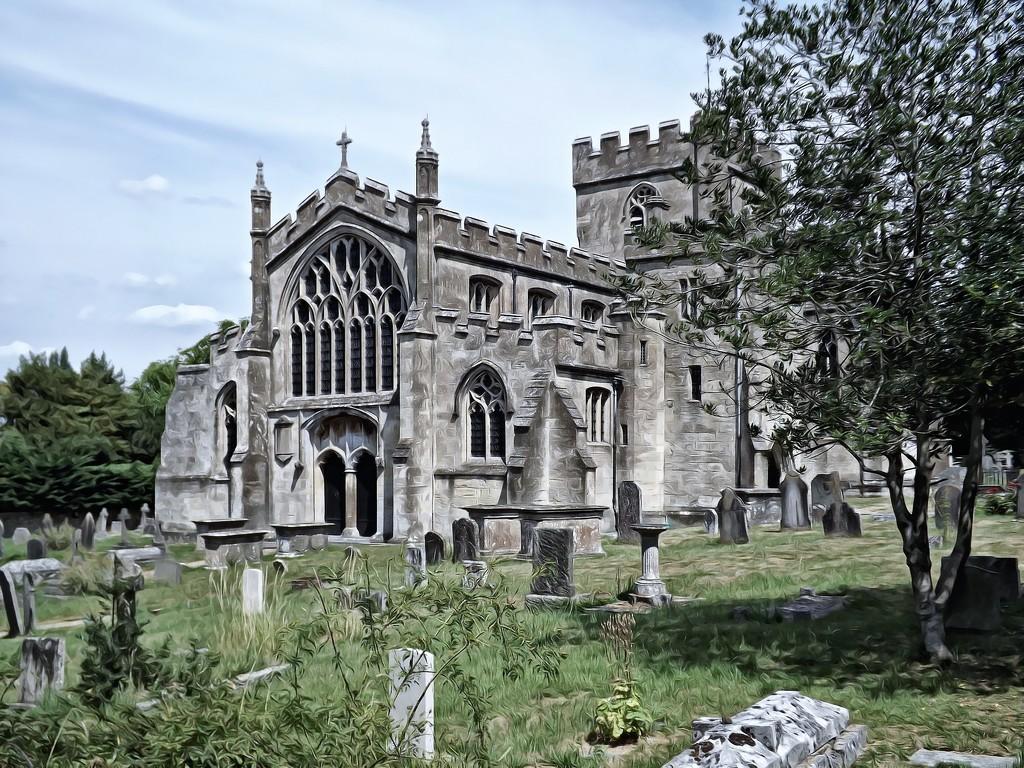 Edington Church by ajisaac