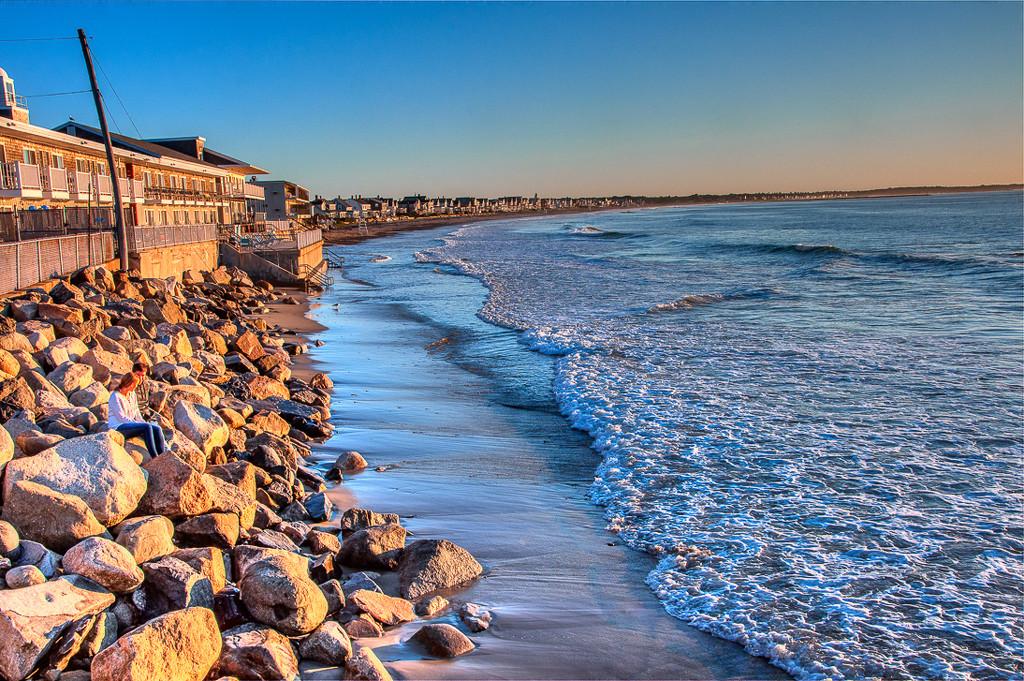 Morning at the beach by joansmor