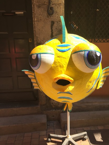 Yellow fish.  by cocobella
