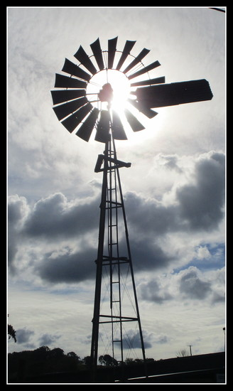 Windmill  at  Maleny by 777margo