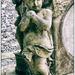 Cherub on church memorial