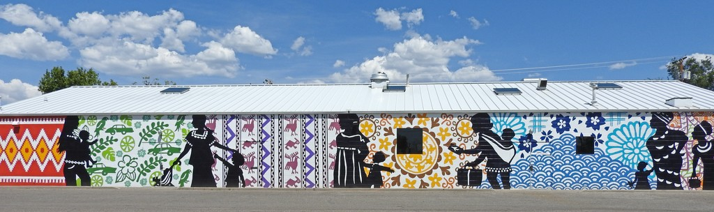 The Way to Albuquerque--New Mural Depicts Migration in all its Beautiful Diversity by janeandcharlie
