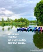 23rd Jul 2018 - Canoes