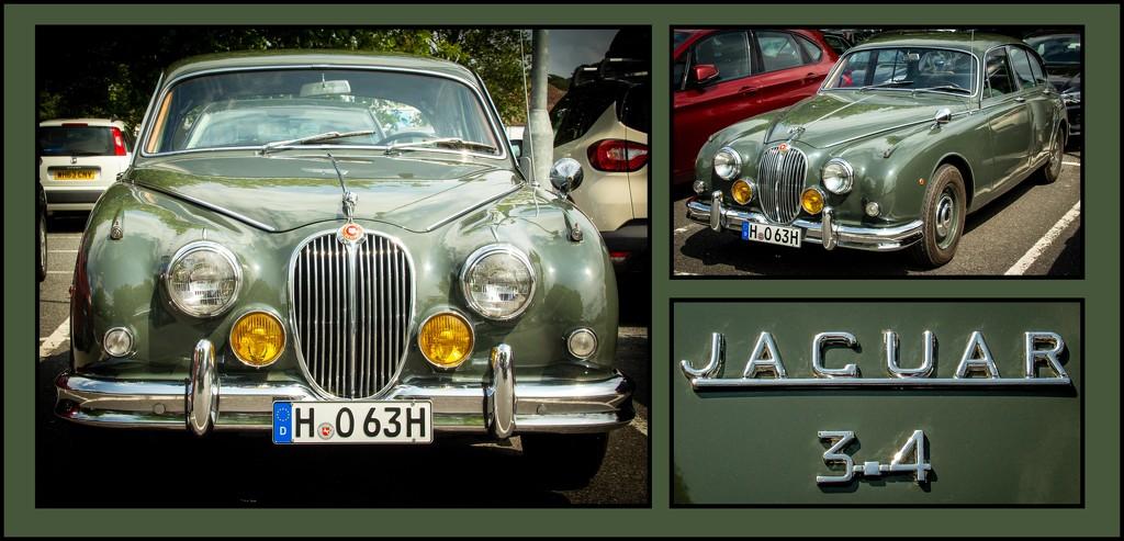 Jaguar MKII 3.4L by swillinbillyflynn