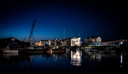 25th Jul 2018 - Ramsey Harbour at night...