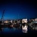 Ramsey Harbour at night... by vignouse