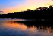25th Jul 2018 - Sunset on Horseshoe Lake