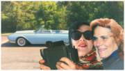 26th Jul 2018 - Thelma and Louise take the first selfie