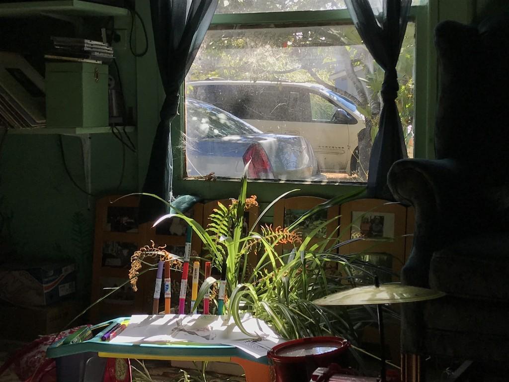 Friday framed - window  by pandorasecho