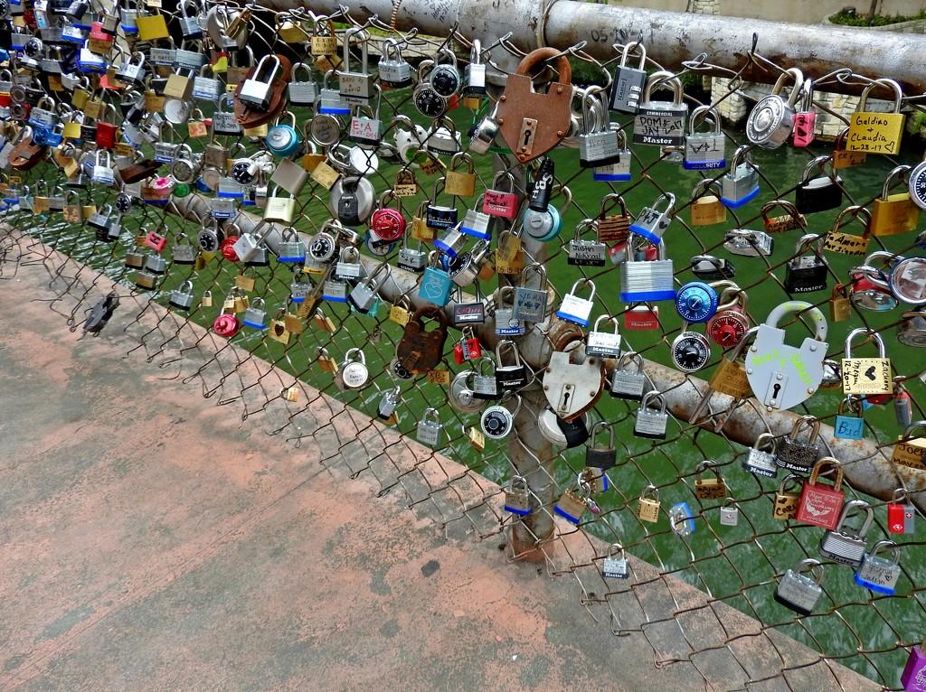 Love Locks, San Antonio, Texas by janeandcharlie