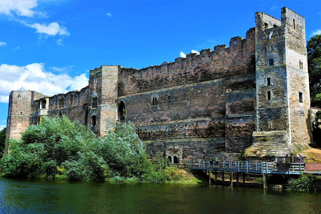 Castle on the River Trent by carole_sandford