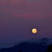 Moon at Sunrise  by salza