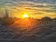 28th Jul 2018 - Sunset on the beach.