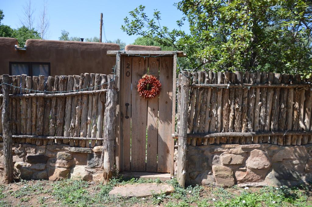 Gate in Galisteo, N.M. by bigdad