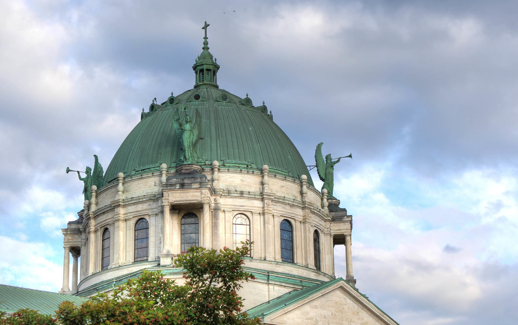Dome on Our Lady of Victory Basilica by mittens