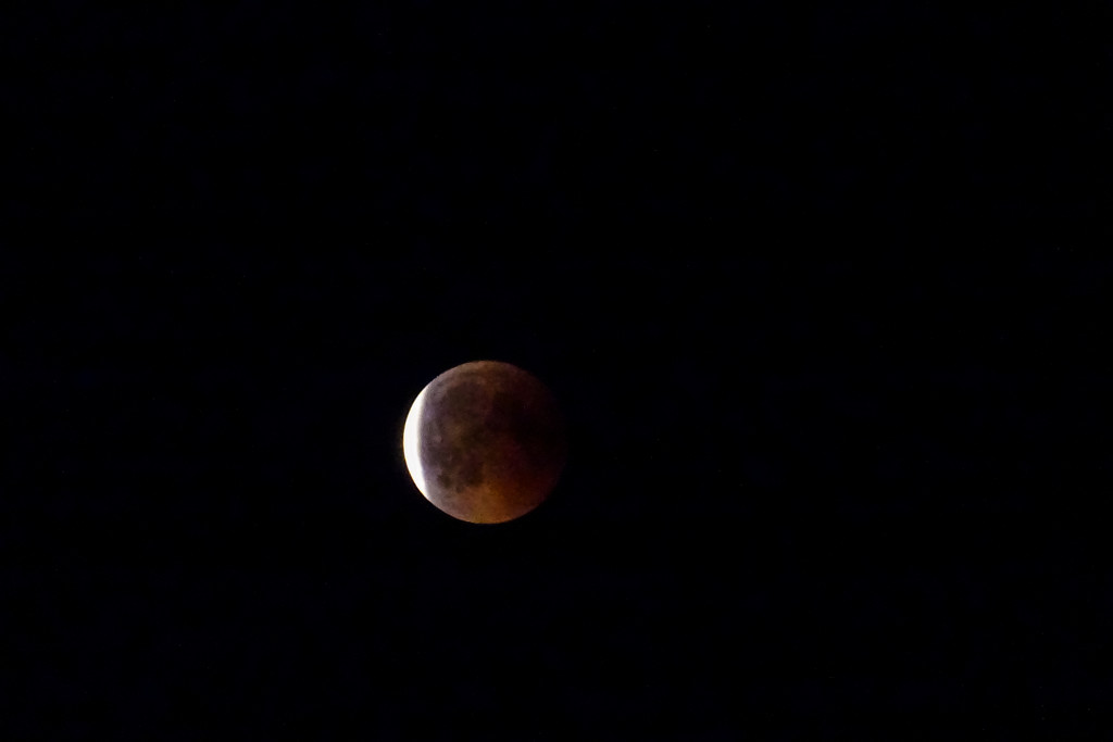Blood moon by geertje