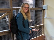 31st Jul 2018 -  Niki and a Burrowing Owl