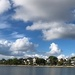 Summer clouds over Colonial Lake, Charleston, SC by congaree