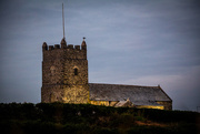 17th Jul 2018 - Forrabury church as dusk