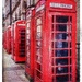 The phoneboxes in Preston town centre by lyndamcg