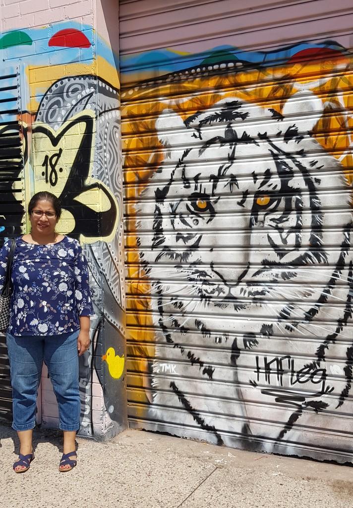 Sheeba with Wall Art by miraries