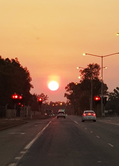 Sunset on Stuart Hwy by miraries