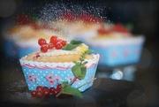 3rd Aug 2018 - 2018-08-03 tiny lemon-redcurrant cakes