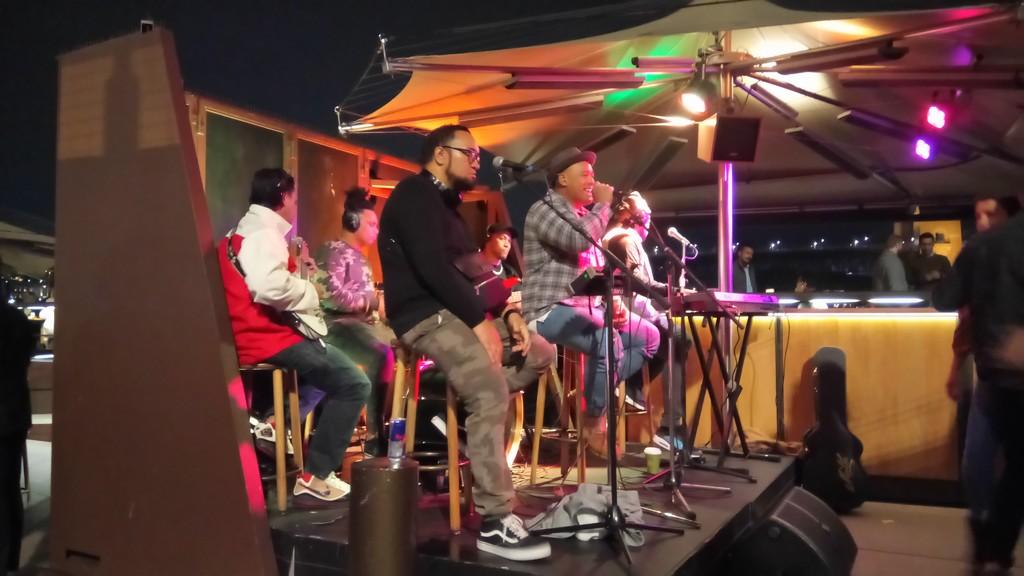 Live band by julianneovie