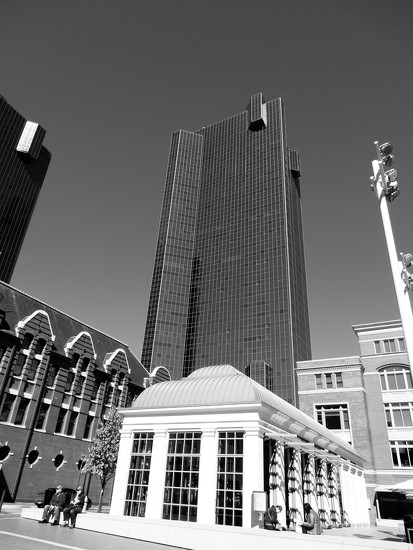 Fort Worth in Black and White, for Joey by louannwarren
