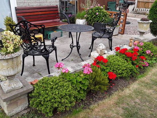 The patio  by beryl