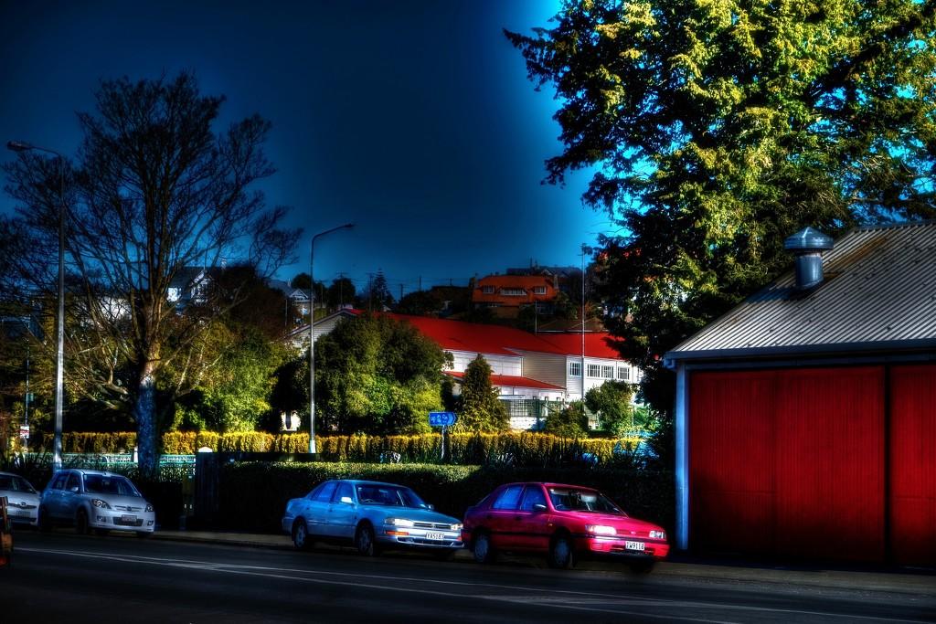 Street scene by maggiemae