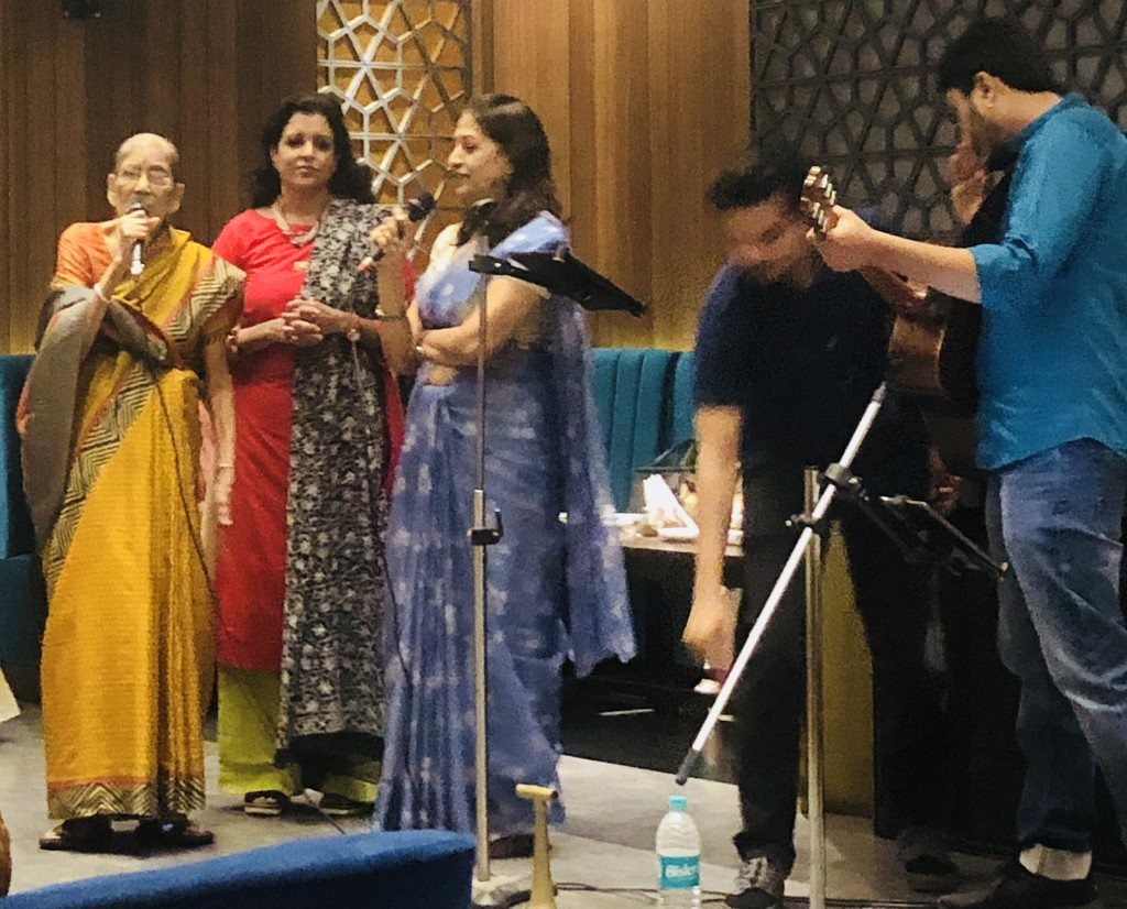 Ladies singing at our club meeting  by veengupta