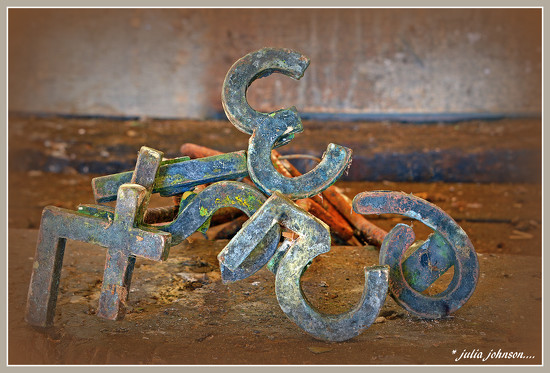 Branding Irons....  In the Shed by julzmaioro