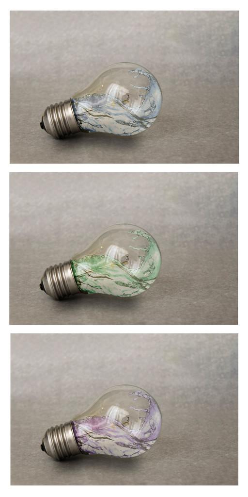 LightbulbTriptych by salza