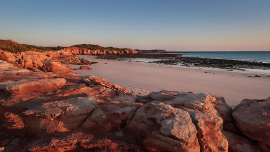 Sunrise on the Eastern beach, Kooljaman, Cape Leveque by jodies