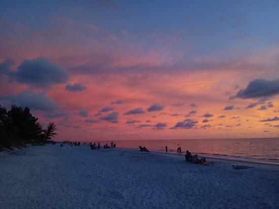 Florida Sunset by lynbonn