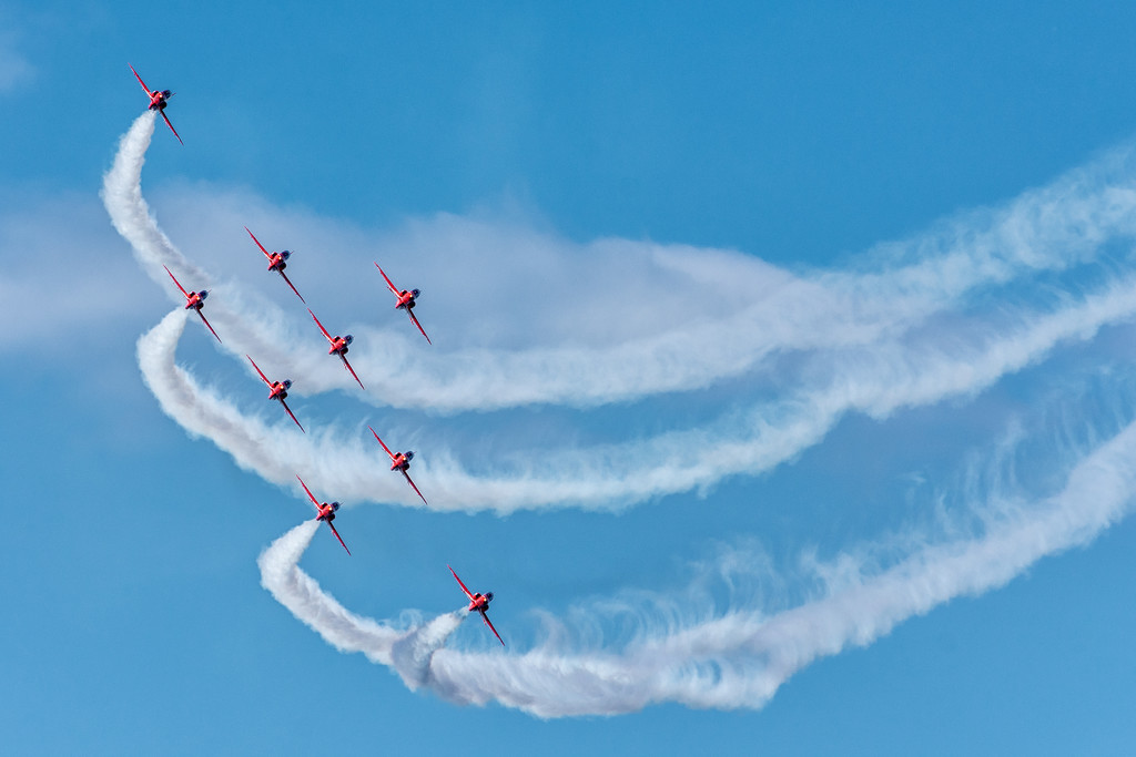Reds at Cromer  by rjb71
