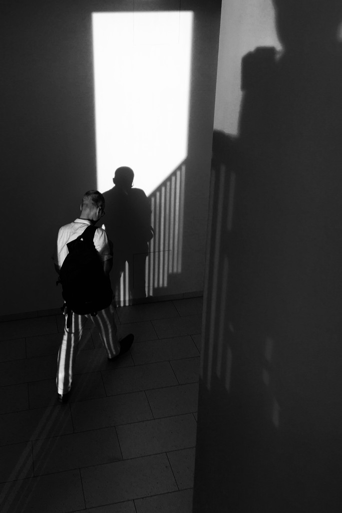 Shadows in stairs by vincent24