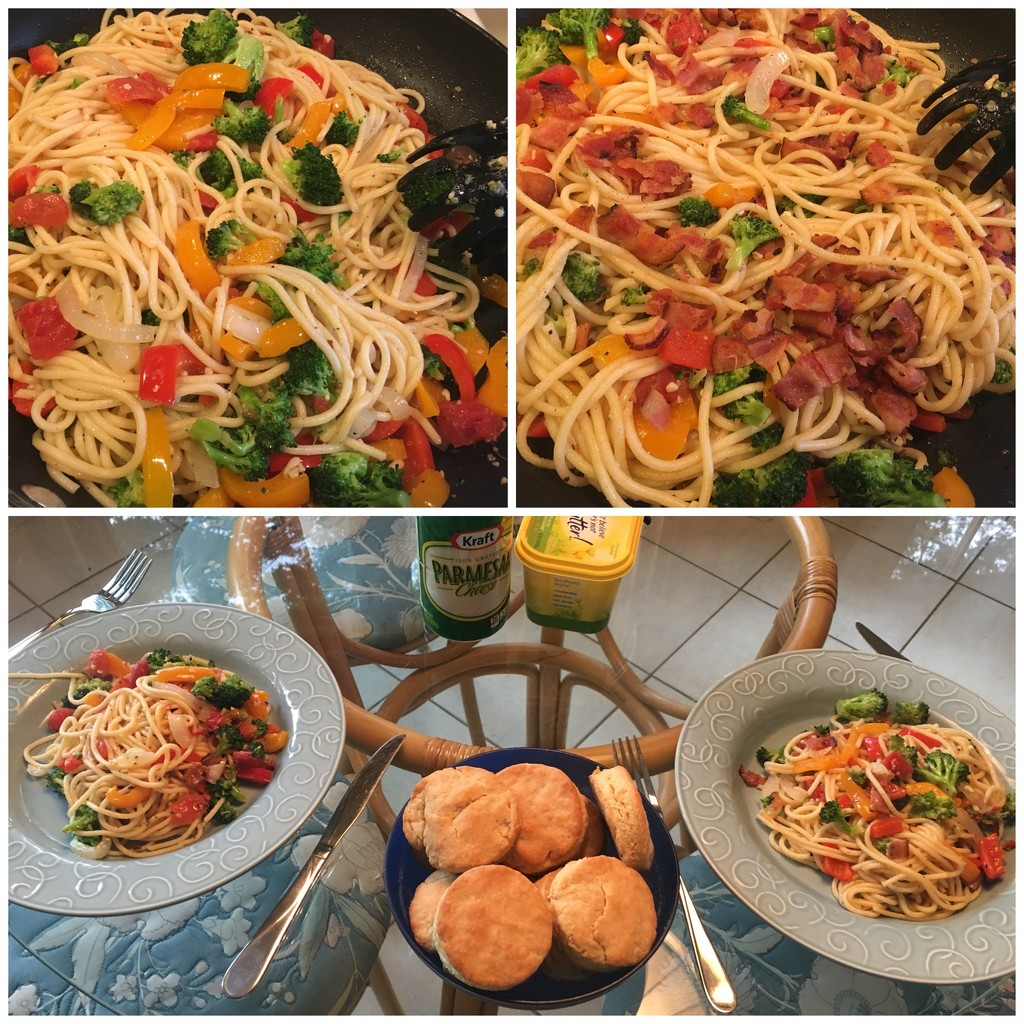 Wednesday nite dinner cooked by husband by ggshearron