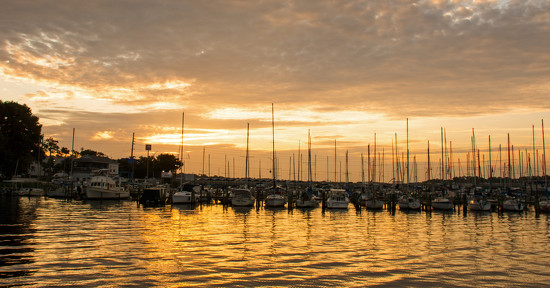 Sunrise at the Marina! by rickster549