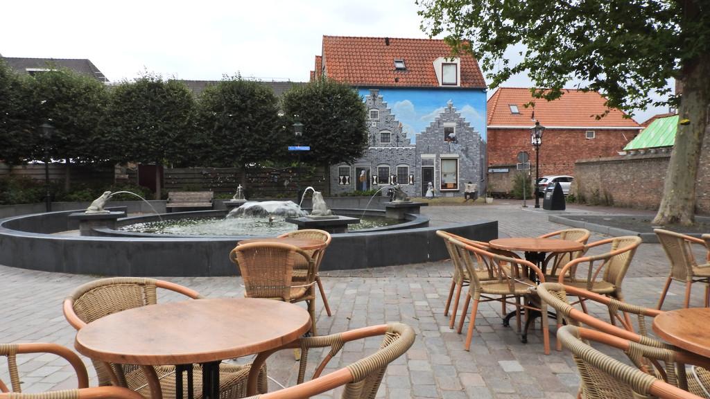 old and new Zierikzee, Holland by marijbar