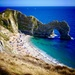 Durdle Door.