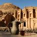 The monastery (70 AD), Jordan by stefanotrezzi
