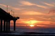 19th Aug 2018 - Sunrise at the end of the pier