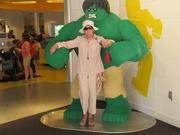 21st Aug 2018 - The Hulk and I