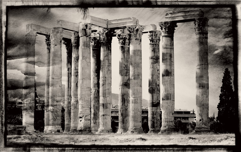 temple of olympian zeus by blueberry1222